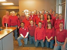 CECM Team Wear Red Day